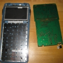PCB extraced, the key pad is exposed